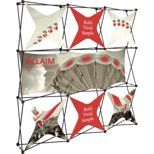 Xclaim 8ft Fabric Popup Display Kit 06
